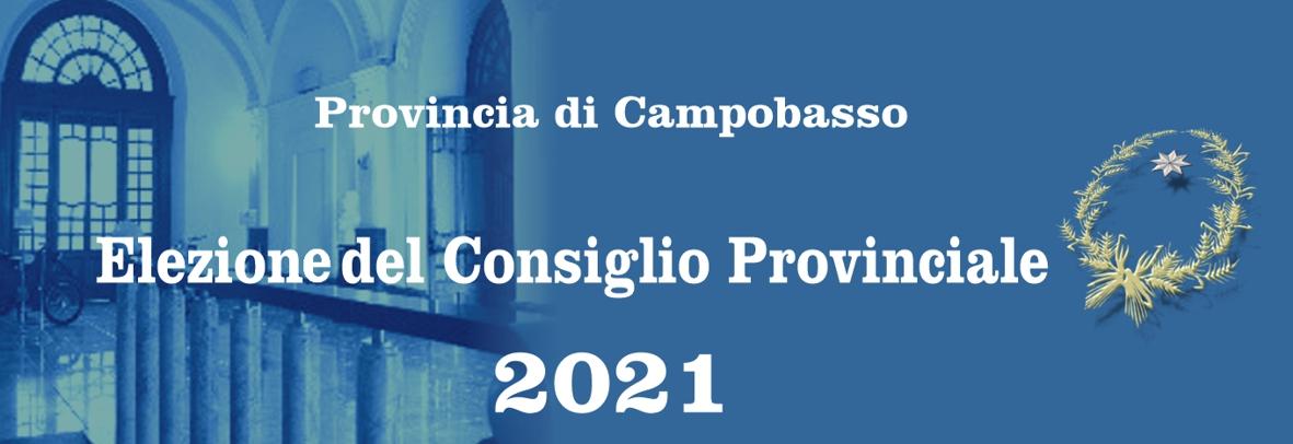 Elezione del Consiglio Provinciale 2021