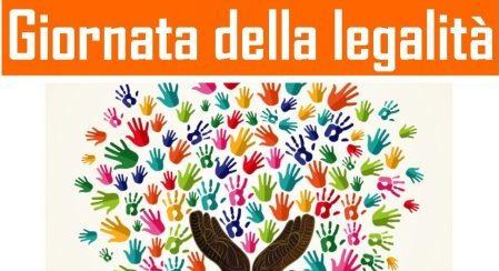 Logo giornata della legalità