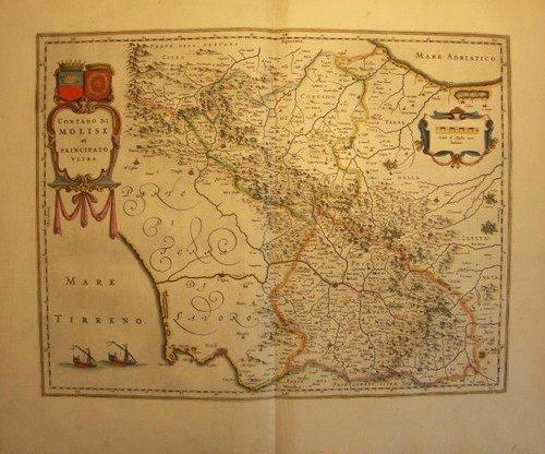 Mappa Storica della Provincia di Campobasso