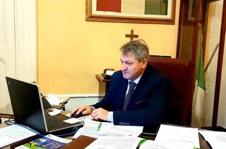 Il Presidente della Provincia di Campobasso, Francesco Roberti